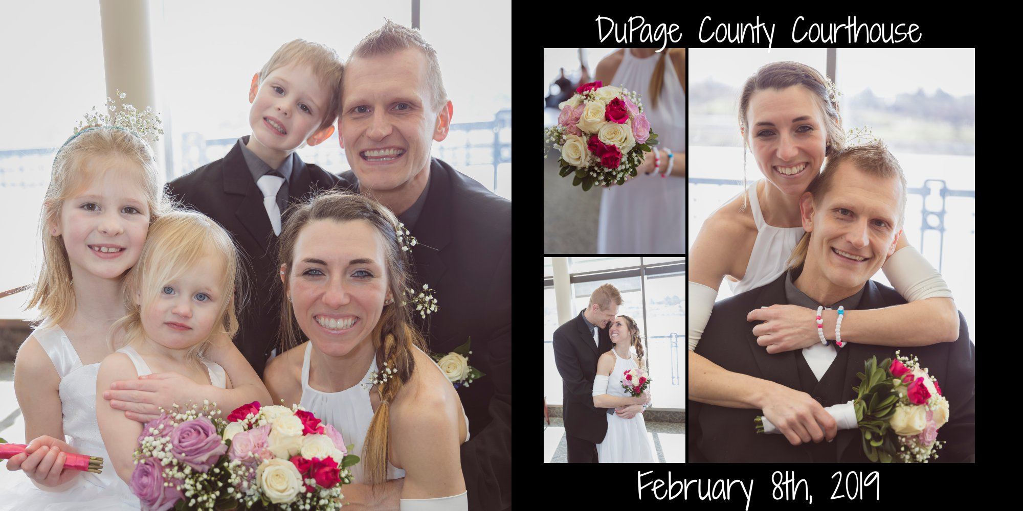 DuPage County Courthouse Wedding